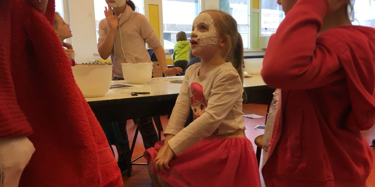Woensdagmiddag: Maskers maken