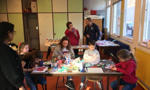 Woensdagmiddag: Masker maken deel 3 en Valentijn