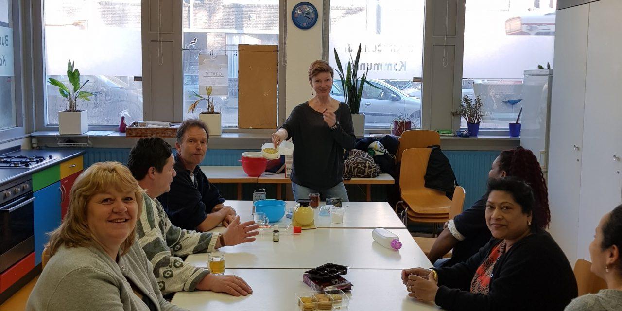 Gratis workshop wasmiddel maken georganiseerd door Humanitas DMH was erg gezellig en leerzaam.