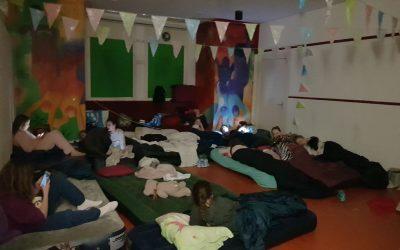 Voorjaarsvakantie: Slaapnacht met de meidenclub