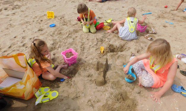 Woensdagmiddag: Op naar het strand!