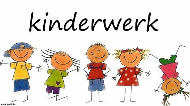 Start Kinderwerk woensdag 5 september!