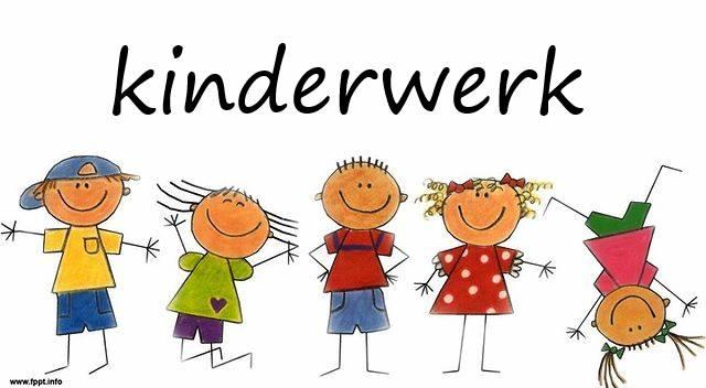 Start Kinderwerk woensdag 5 september!