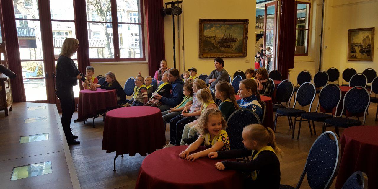 Muzee Scheveningen met kinderen van 4-12.