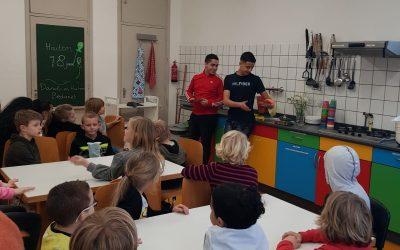 kookclub: afscheid van Haitem & Danilo